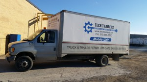 Our Mobile Repair Truck! Servicing your vehicles at weight stations, truck stops, side of the road or even at your shop.