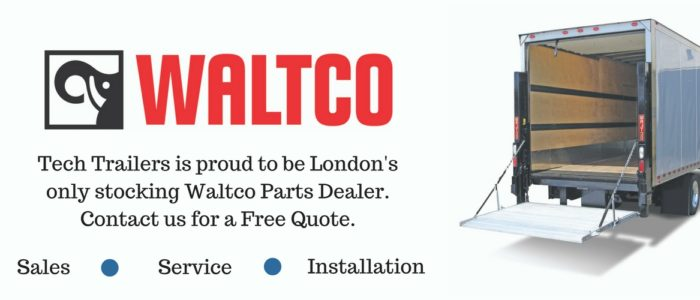 Tech Trailers is proud to be London's only stocking Waltco Parts Dealer. Contact us for a Free Quote.