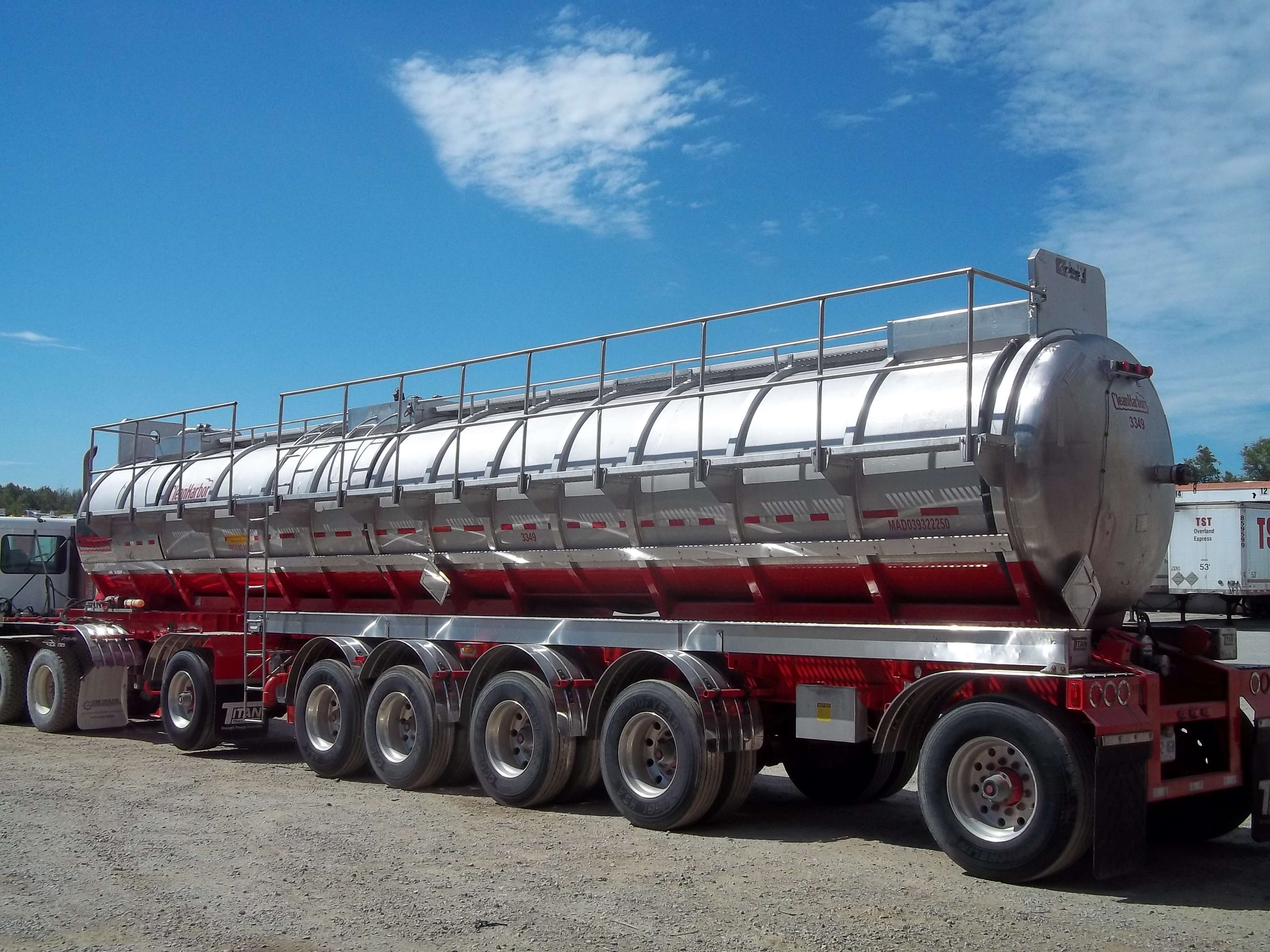 Tanker, Railing Installed and Created by Tech Trailers